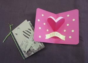 バレンタインカード写真2
